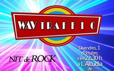 L'Alcúdia de Crespins acull aquest divendres el concert de rock del grup alcudià Wav Traffic