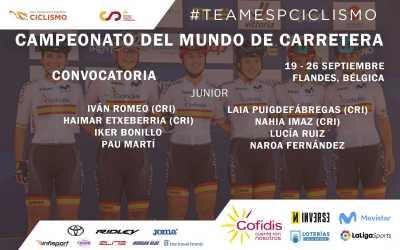 Pau Martí entra en la convocatòria per al Mundial de carretera de categoria junior