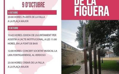 L'Ajuntament de La Font de la Figuera presenta el programa d'actes per a celebrar el 9 d'Octubre
