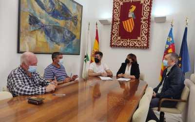 L'Ajuntament de Canals signa el conveni de col·laboració amb les bandes de musica locals