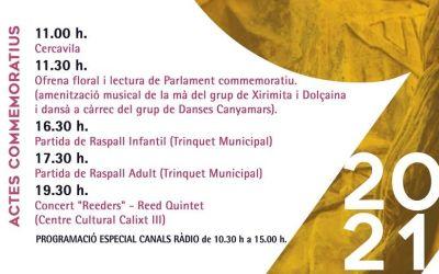 L'Ajuntament de Canals organitza una completa programació per a celebrar el 9 d'Octubre