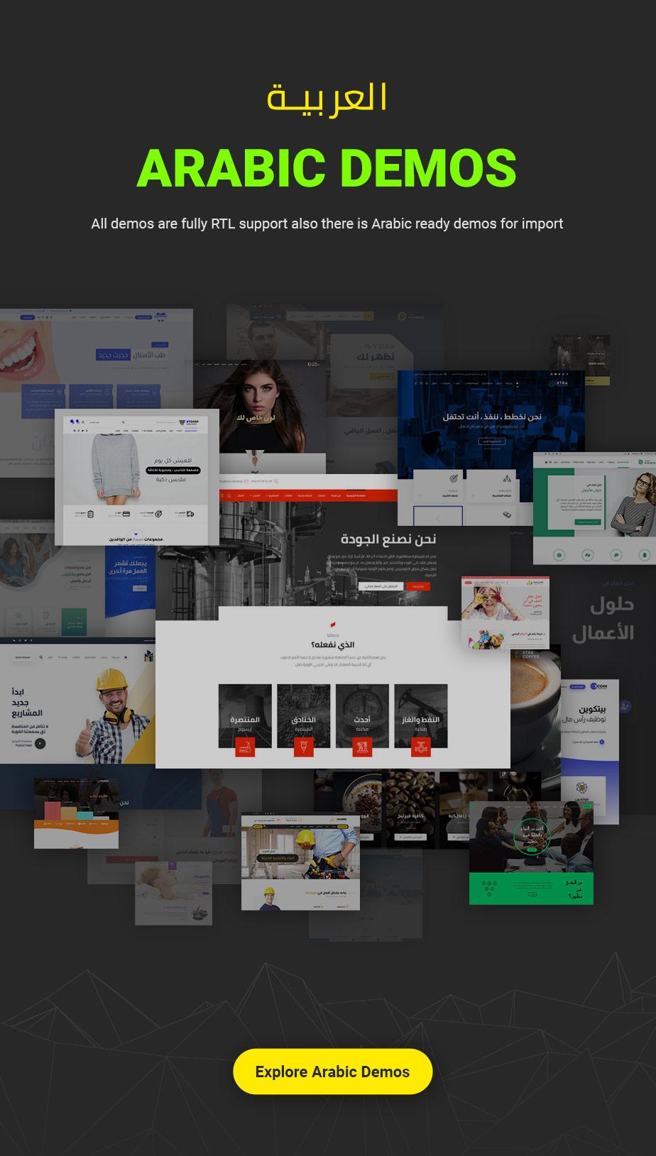 XTRA - Multipurpose WordPress Theme + RTL - 9
