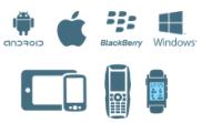 Android Windows Mobile iOS Blackberry