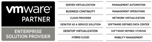 VMware Competencies - Wide