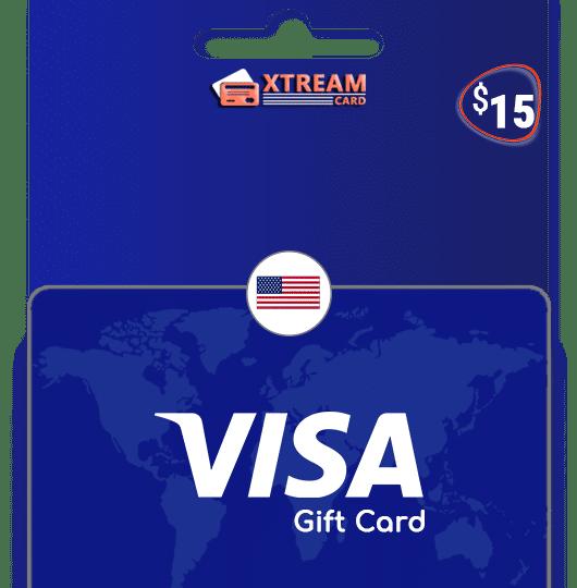 Visa Gift Card $15