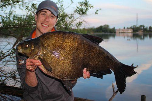 james champkin bream fishing