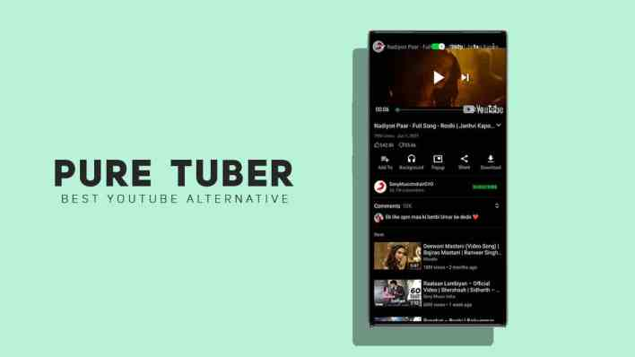 pure tuber review - the best youtube alternative app in 2021 - xtremedroid