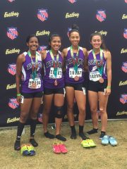 15 -16 Girls 4x8 5th Place