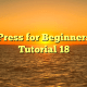 WordPress for Beginners 2015 Tutorial 18