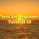WordPress for Beginners 2015 Tutorial 19