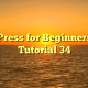 WordPress for Beginners 2015 Tutorial 34