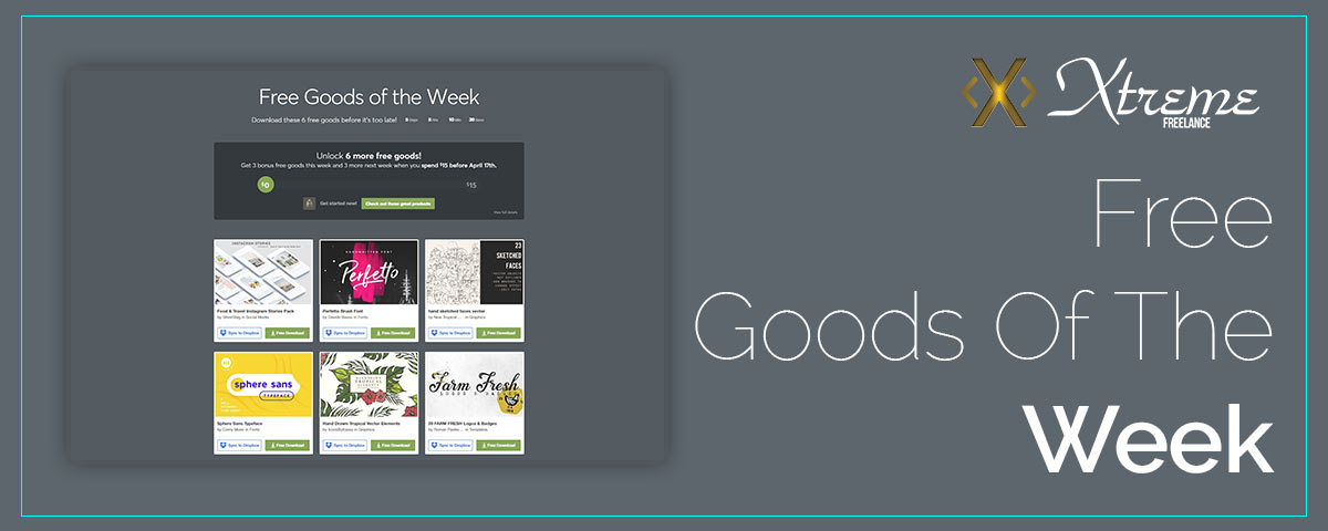 Free Goods Of The Week – Apr.02