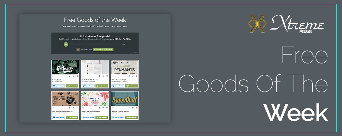 Free Goods Of The Week – Apr.09