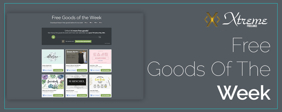 Free Goods Of The Week – May.14