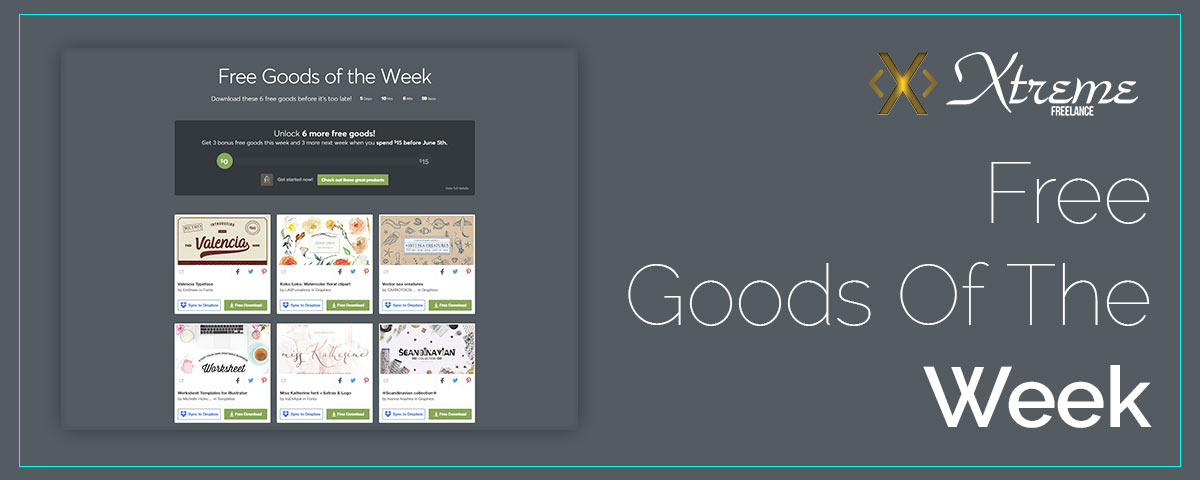 Free Goods Of The Week – May.21