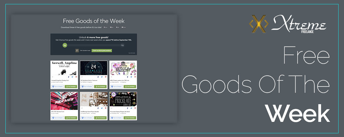 Free Goods Of The Week – Aug.27
