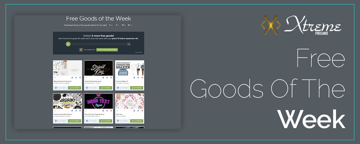 Free Goods Of The Week – Aug.20