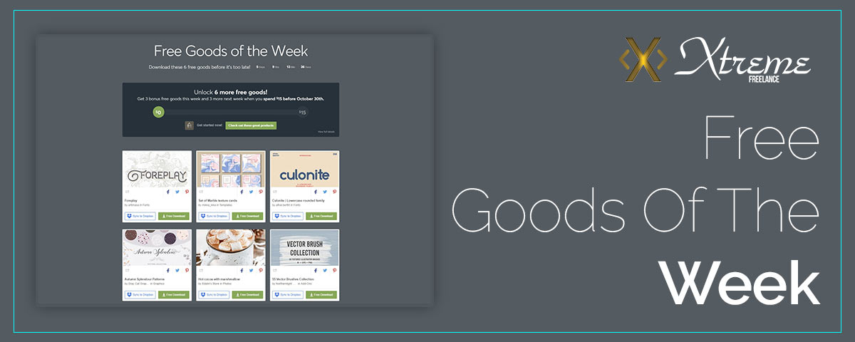 Free Goods Of The Week – Oct.15