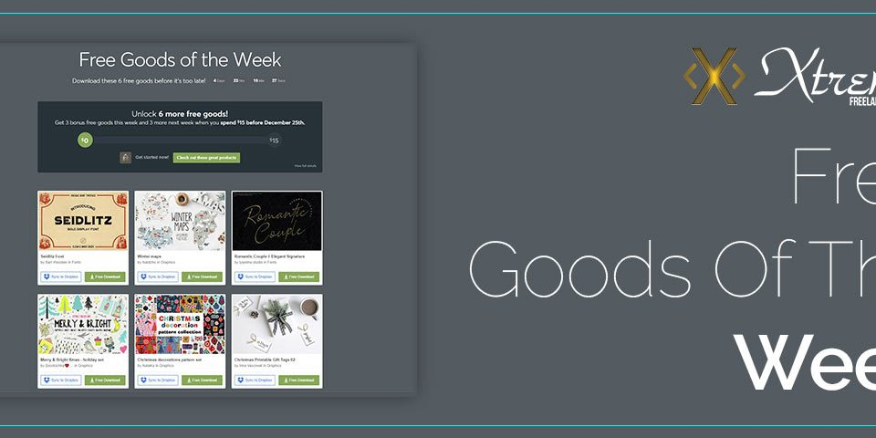Free Goods Of The Week – Dec.17