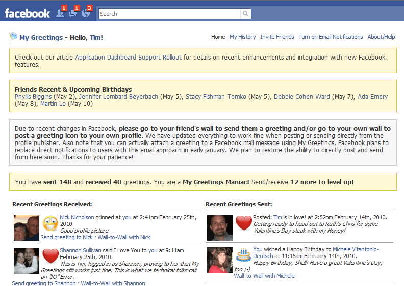 My Greetings on Facebook - Share Mood | Send Icon Greetings