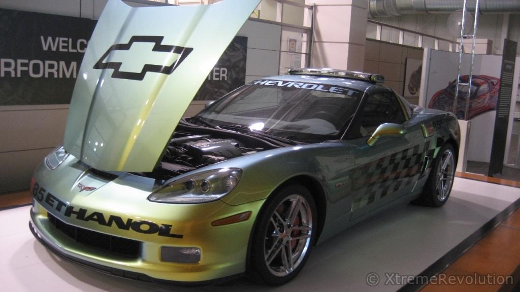Corvette Ethanol E85 Pace Car