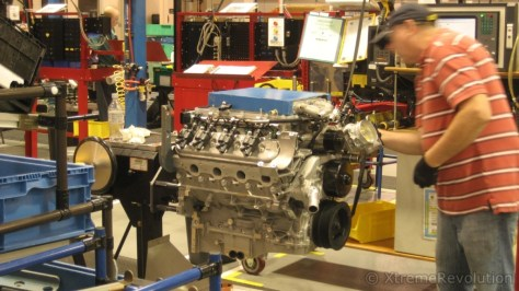 Corvette LS9 ZR1 Engine Assembly