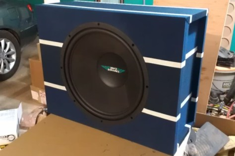 Image Dynamics IDQ15 Custom subwoofer box