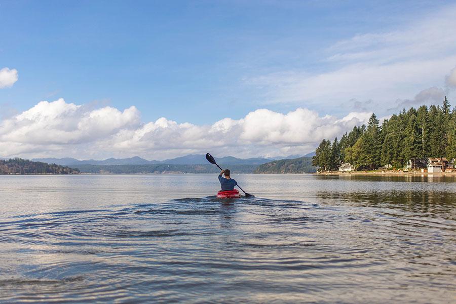 How long does it take to kayak a mile - thumb