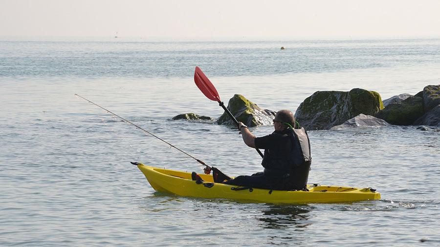 Kayak fishing near me - coast