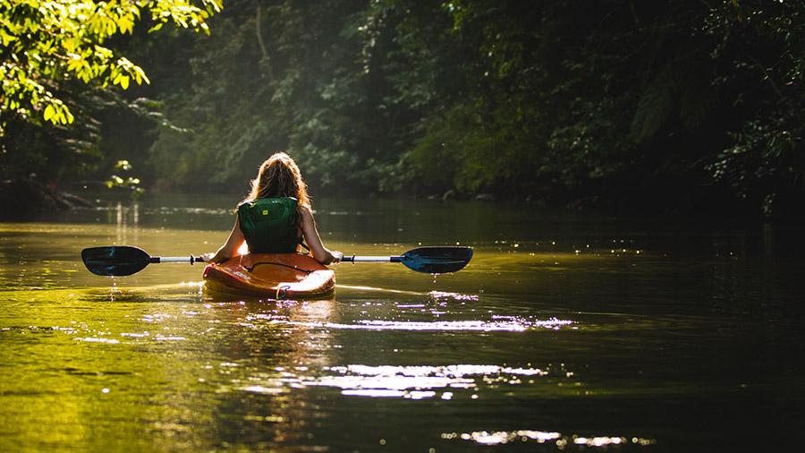 River kayaking near me