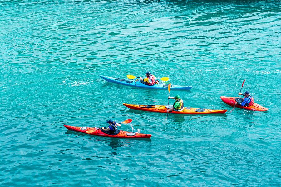 is kayaking good exercise - body