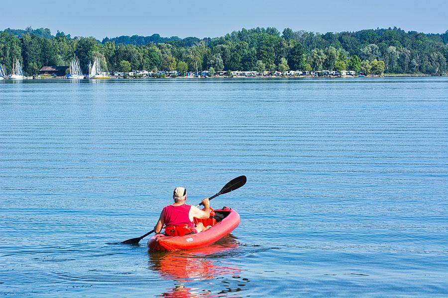 is kayaking good exercise - stress