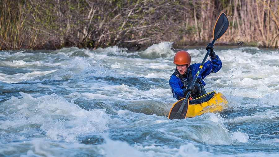 whitewater kayaking near me