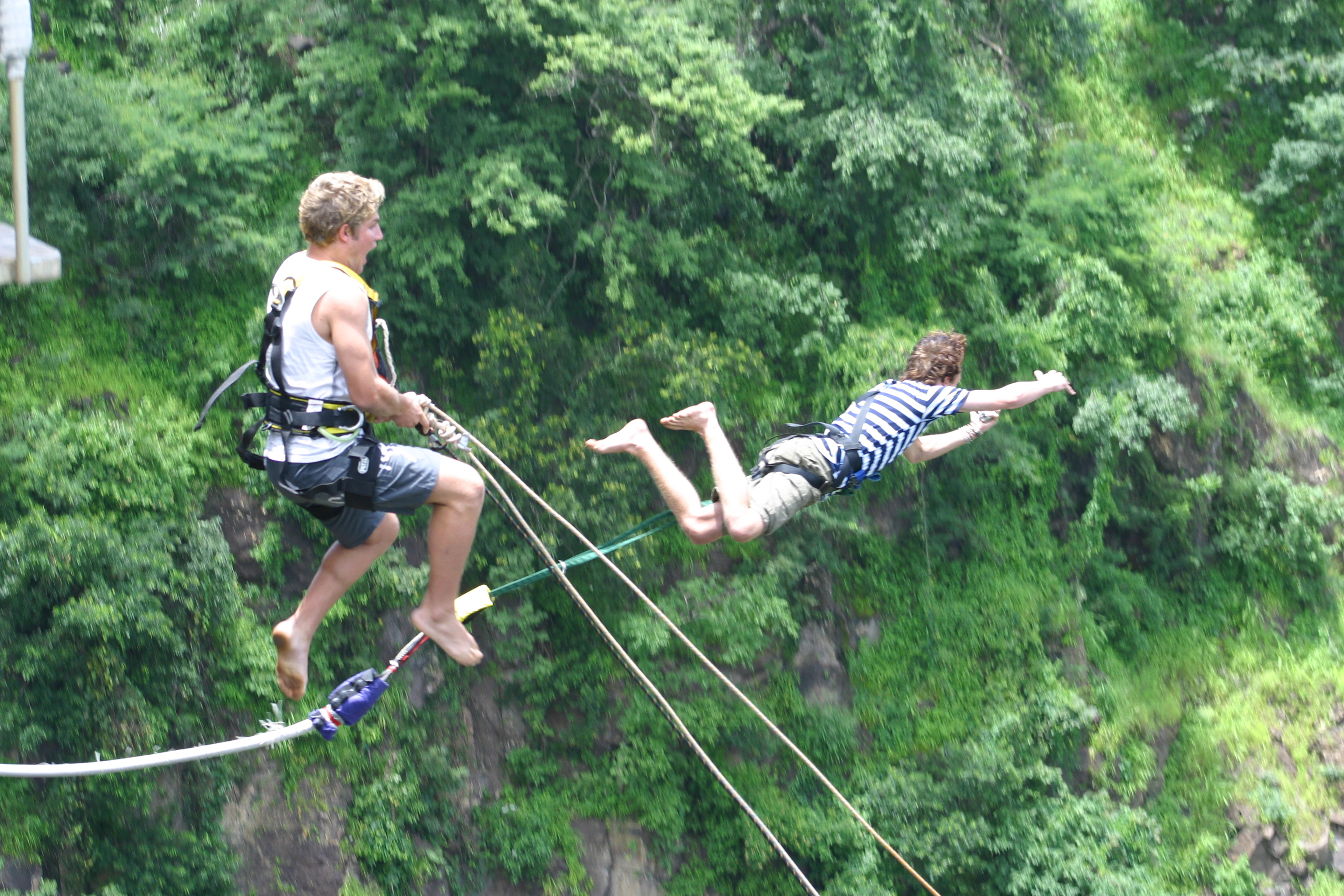 Bungee Jumping Off Victoria Falls Bridge Xtremesport
