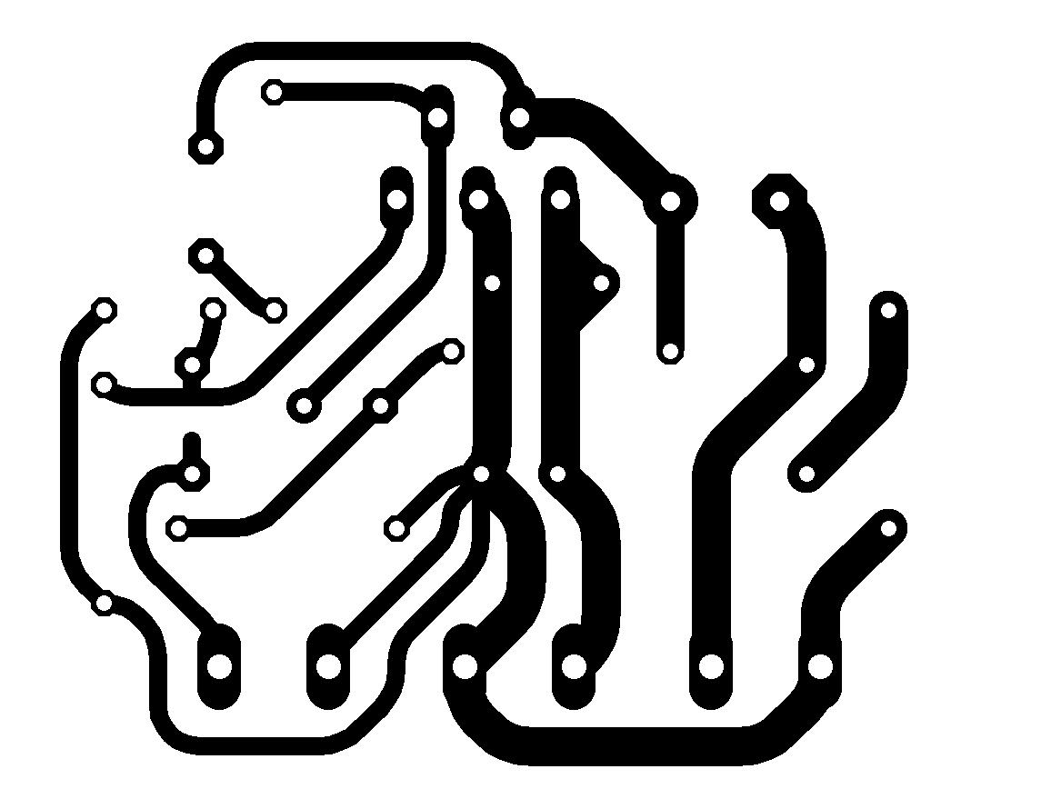 Circuit Of Power Audio Amplifier With Ic Tda For 10 Watt