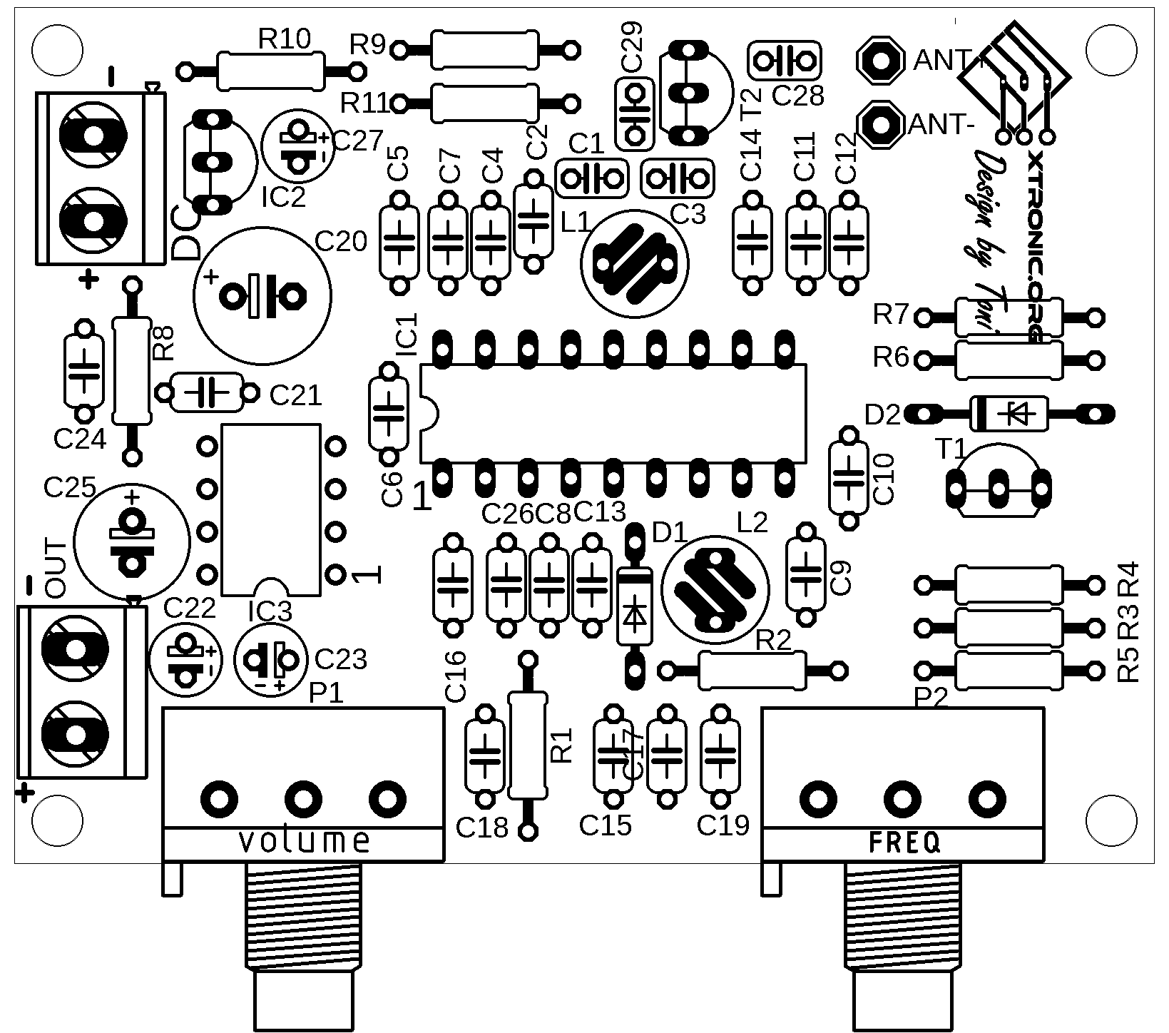 Fm Radio Receiver Diy Circuit With Ic Tda And Lm386
