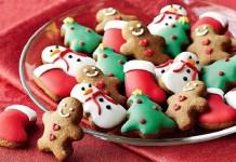 Receita de Biscoito de Natal