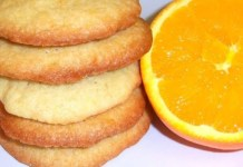 Receita de Biscoitos de Laranja