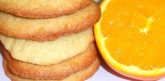 Biscoitos de Laranja