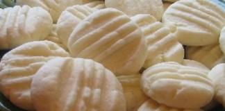 Receita de Biscoito de Maizena