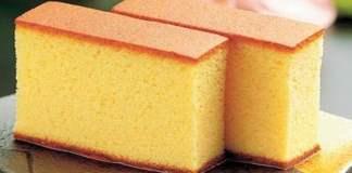 Receita de Bolo Kasutera pão de ló Japonês
