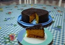 Receita de Bolo de Cenoura com de Chocolate