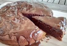 Receita de Bolo de Maizena e Chocolate
