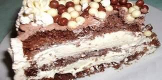 Receita de Bolo mousse de chocolate branco