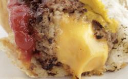 Receita de Burguer dog recheado com queijo