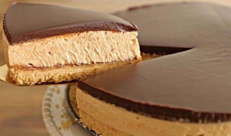 Receita de Cheesecake de Café