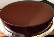 Cobertura de Chocolate Espelhada
