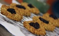 Receita de Cookies de Aveia e Banana