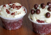 Receita de Cupcake de chocolate com cream cheese
