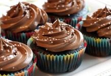 Receita de Cupcakes de Chocolate